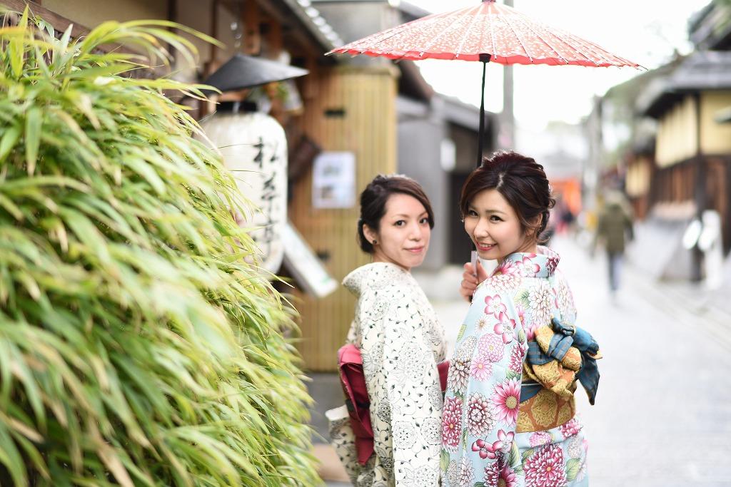 レンタル着物 京の街並みをごゆっくり観光して下さい
