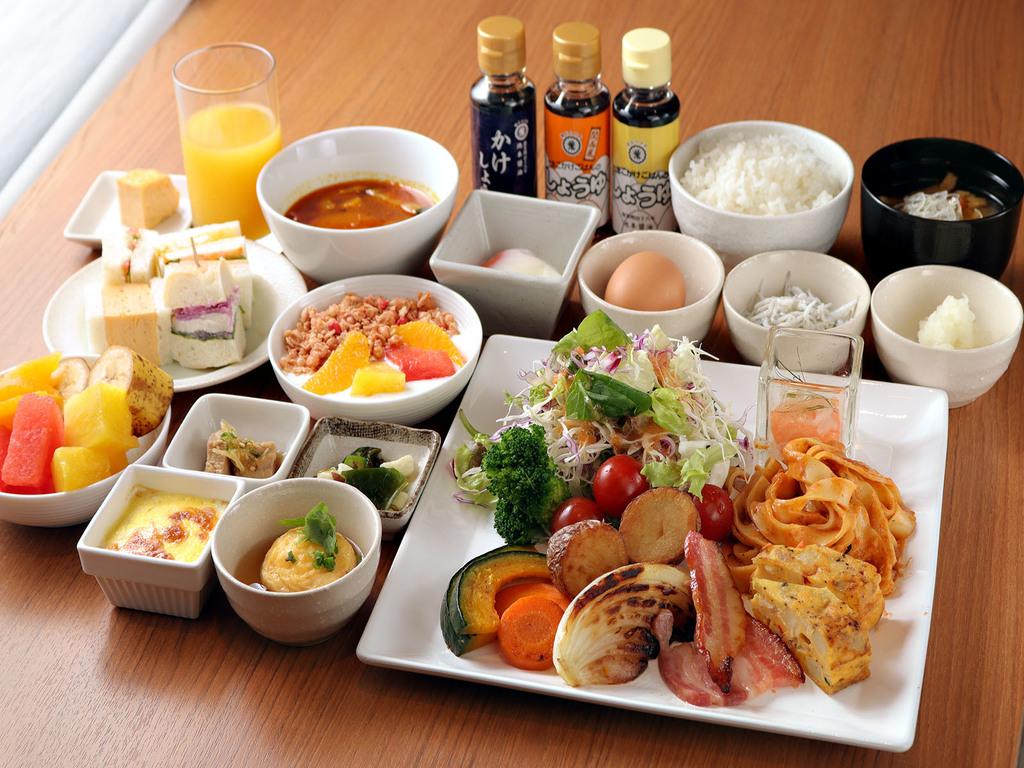 朝食ビュッフェ6:30-9:30