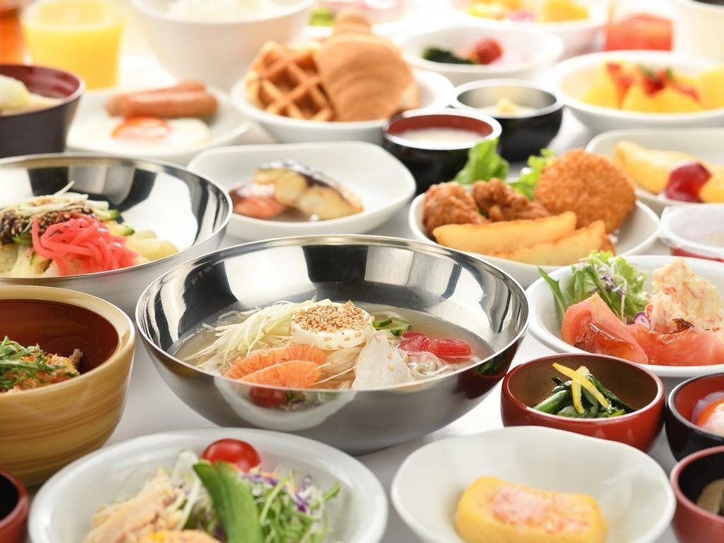 朝食が旨い♪自慢の郷土料理☆品数豊富な和洋バイキングプラン♪≪朝食付≫