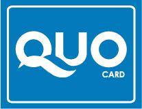 QUOカード金額をお選びいただけます。(500円〜)