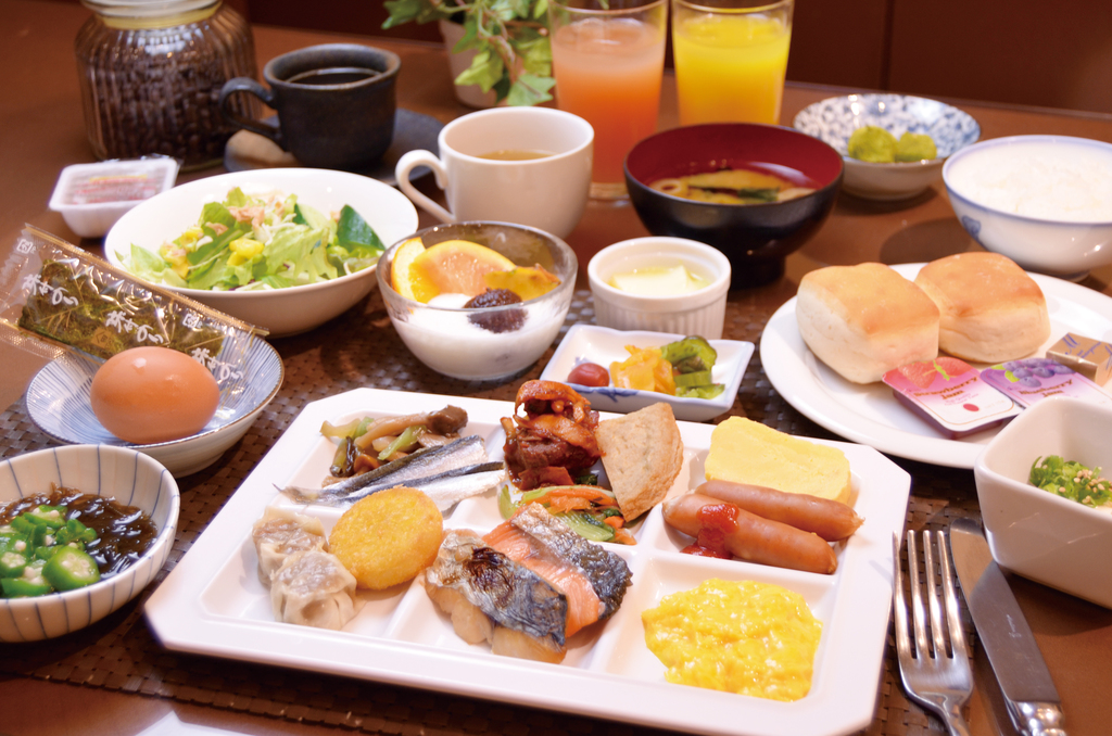 岡山特産のご朝食!