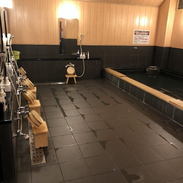 男性専用大浴場★洗い場