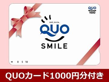 QUOカード1,000円分付きプラン