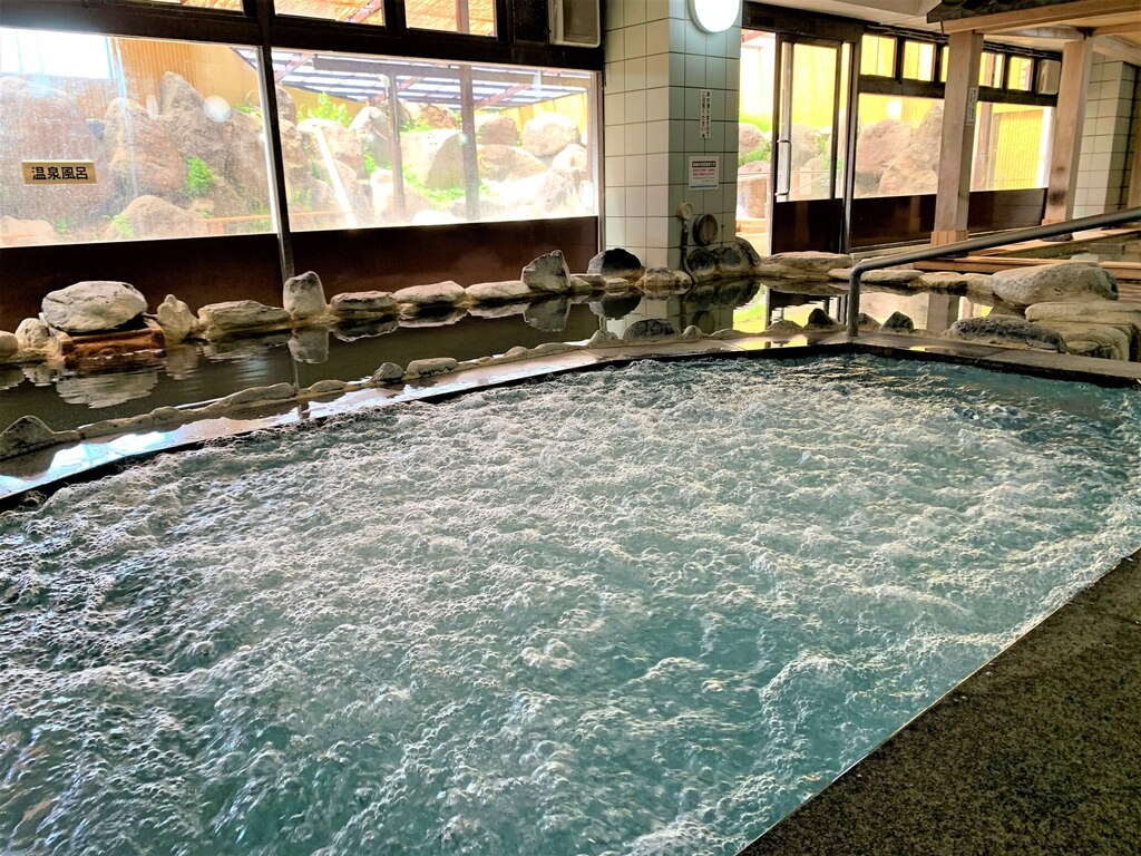 【天然温泉・佐久の湯】バイブラバス