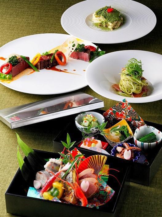 イタリアン×和食が融合したコース料理(イメージ)