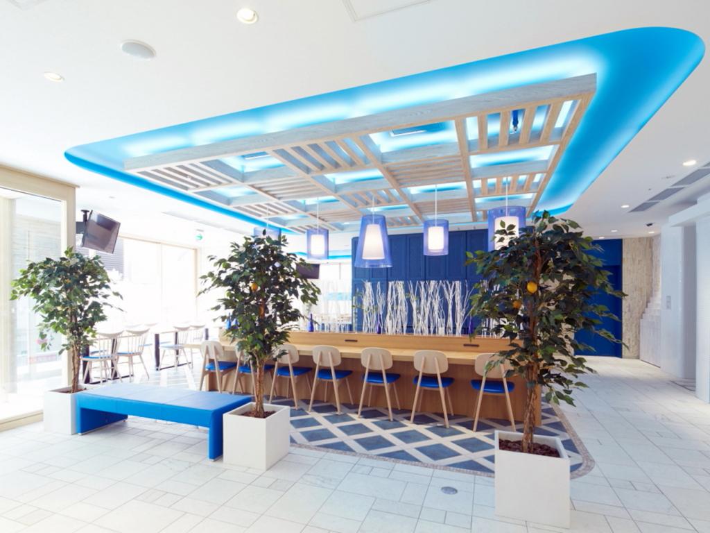 【D−CITY大阪新梅田】ダイニング&ラウンジ(イメージ)館内フリーWiFi完備。皆様のお時間を。