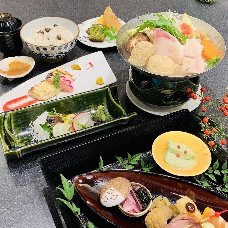 【1月】季節の懐石メイン料理「寄せ鍋」