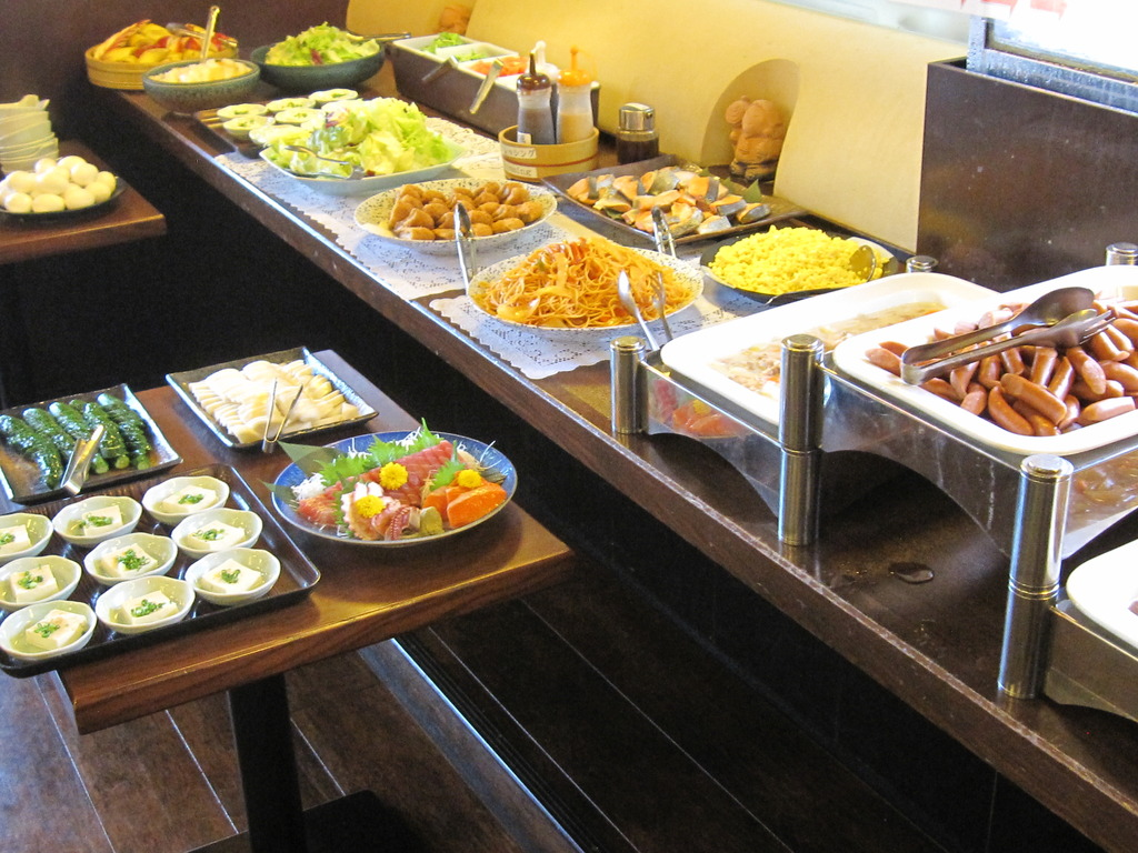 Japanese Food Buffet Breakfast