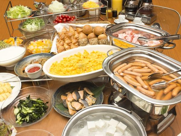 Breakfast<Buffet Style>