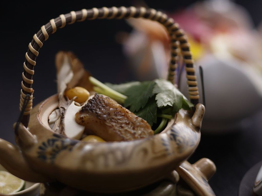 【うらら香・秋】甘鯛の土瓶蒸し