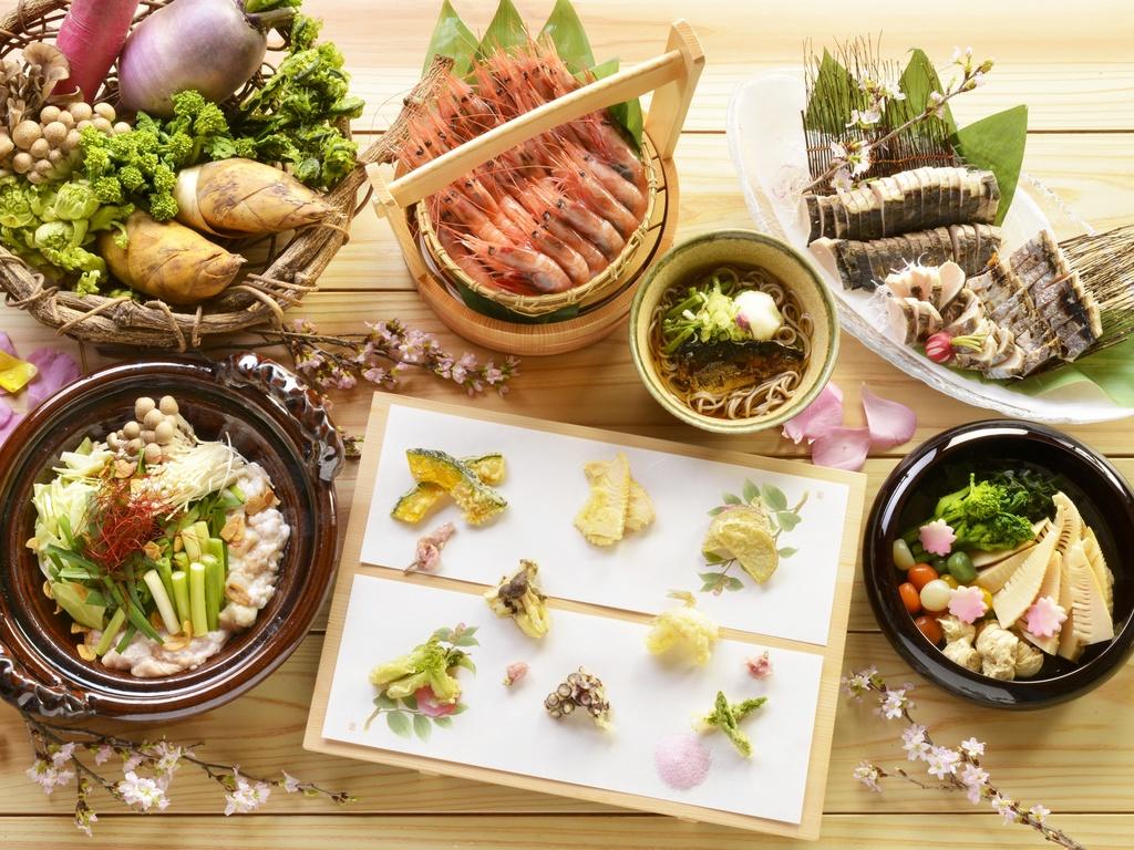 【夕食バイキング/春の献立】