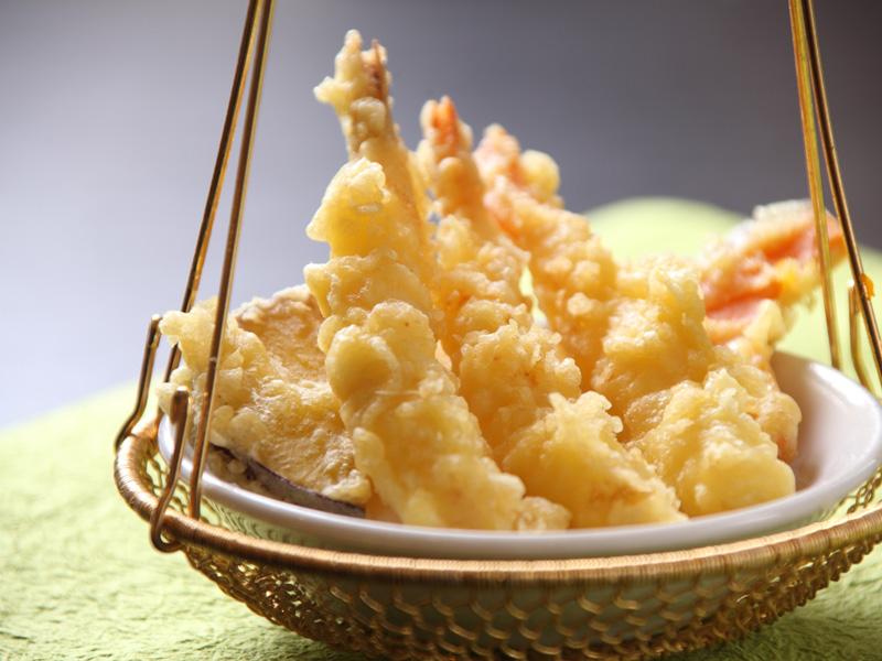【夕食バイキング】海老の天ぷら