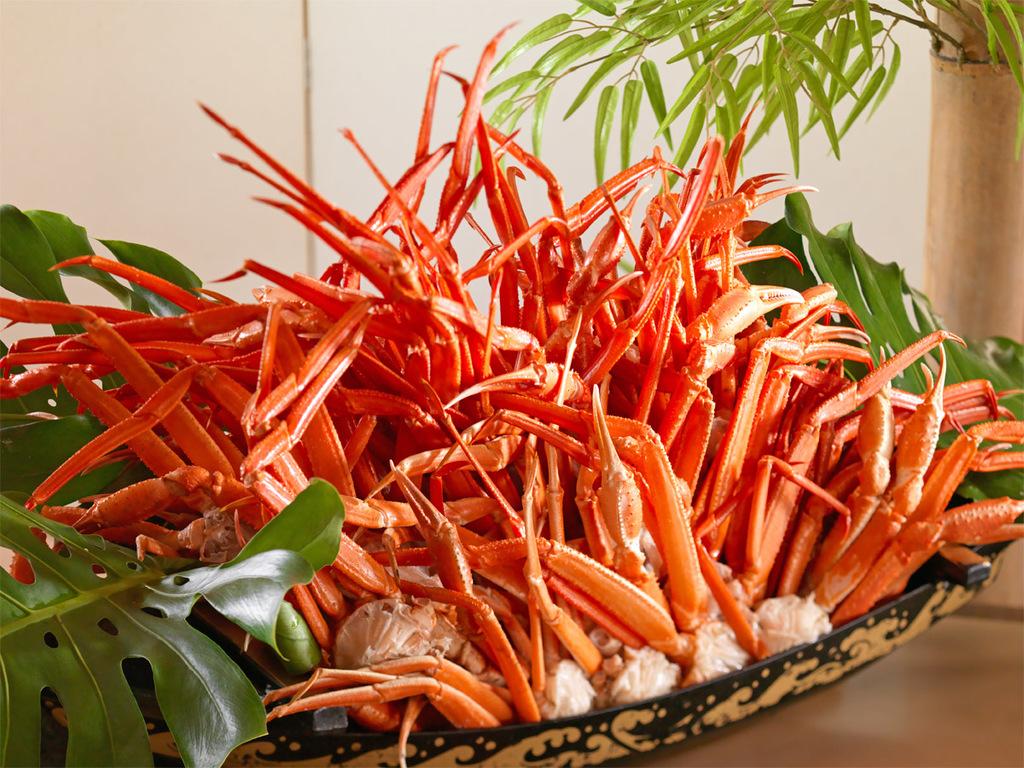 【カニ・蟹祭りプラン】夕食時食べ放題♪(イメージ)