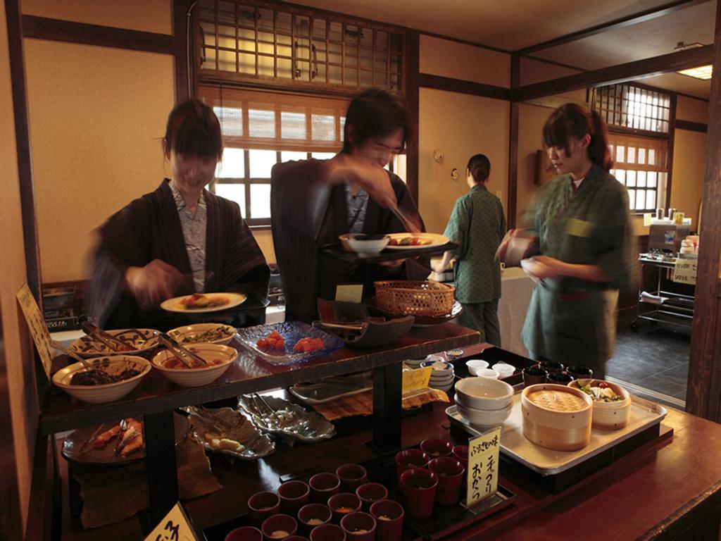 お食事処『仙食庵』朝食風景