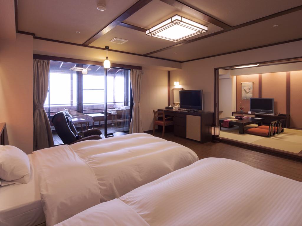 【温泉付】和洋室302号室【ふるさと館】67平米