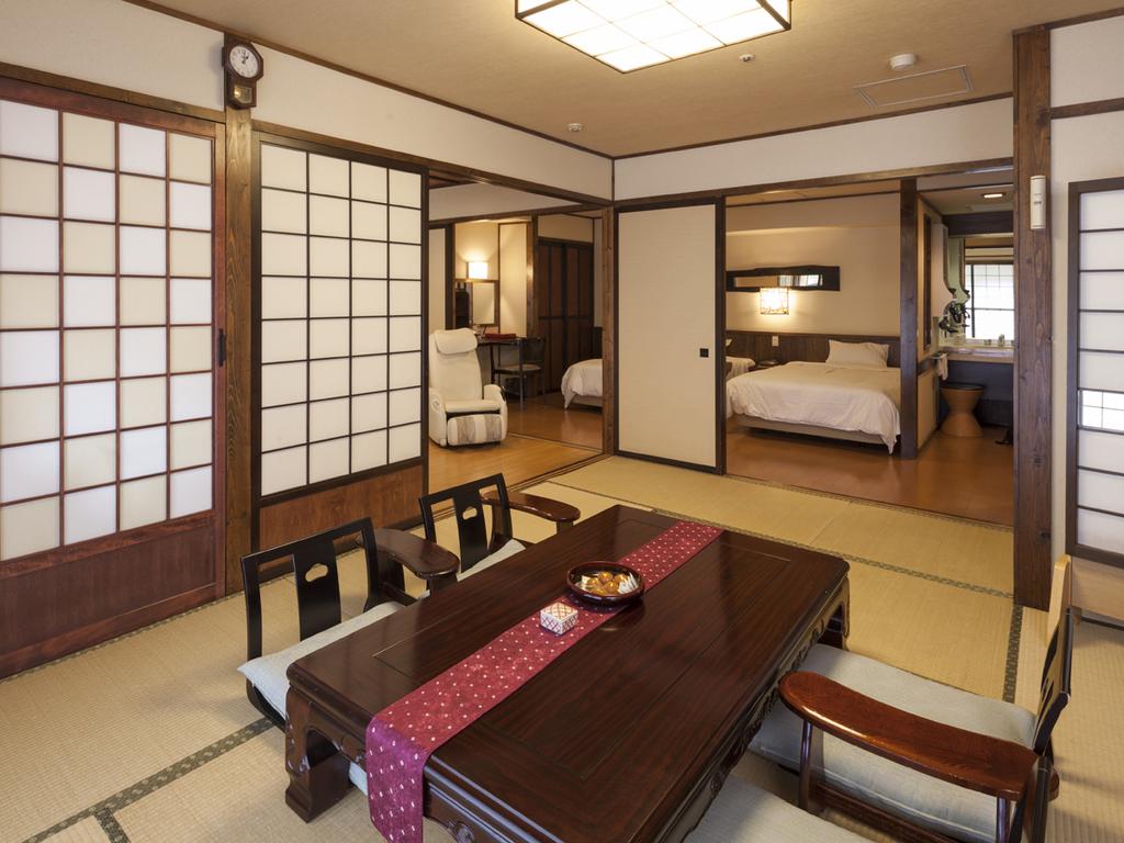 【【愛犬305号室】和洋室2ベッド+和室9.5畳 63平米