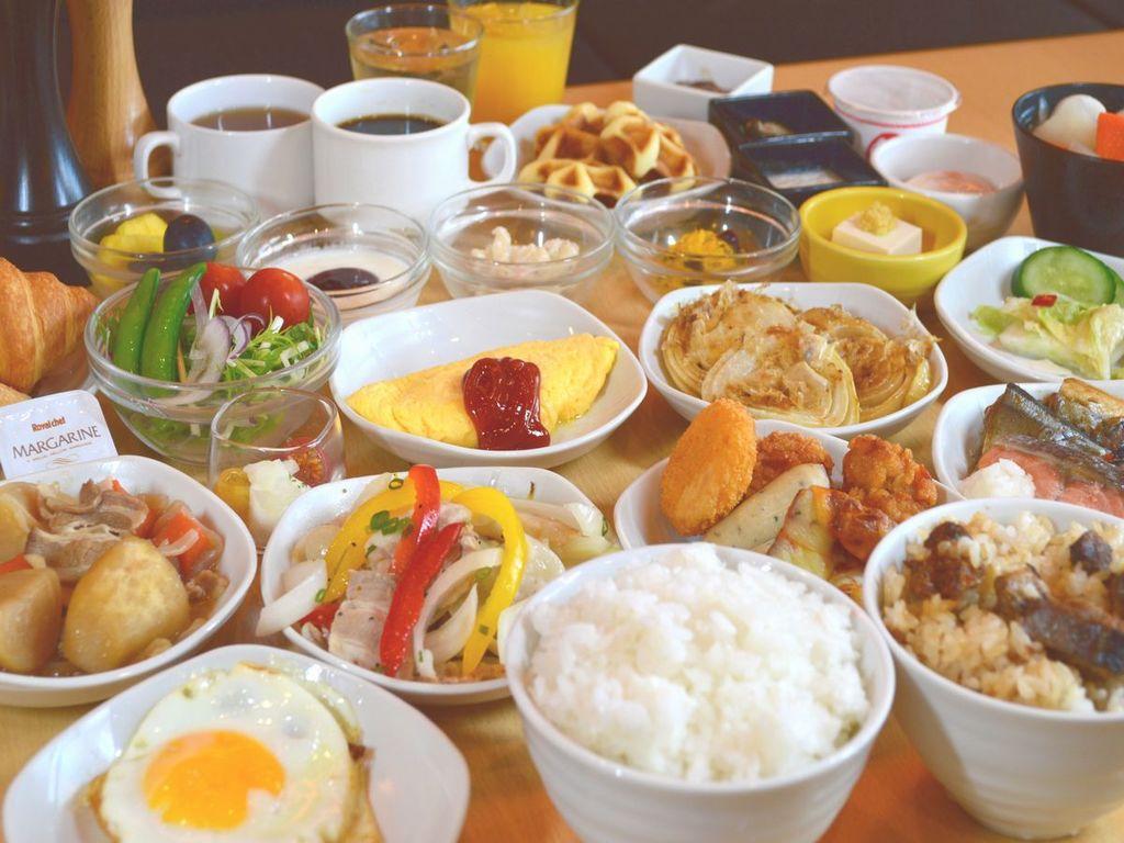 【朝食】和洋バイキング朝食