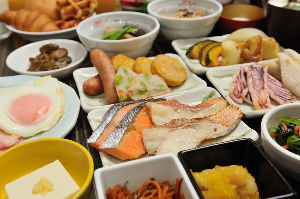 ■朝食バイキング(一例)