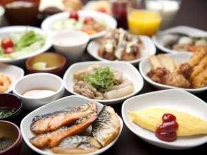 【朝食付き】品数豊富な和洋バイキング朝食♪スタンダードプラン
