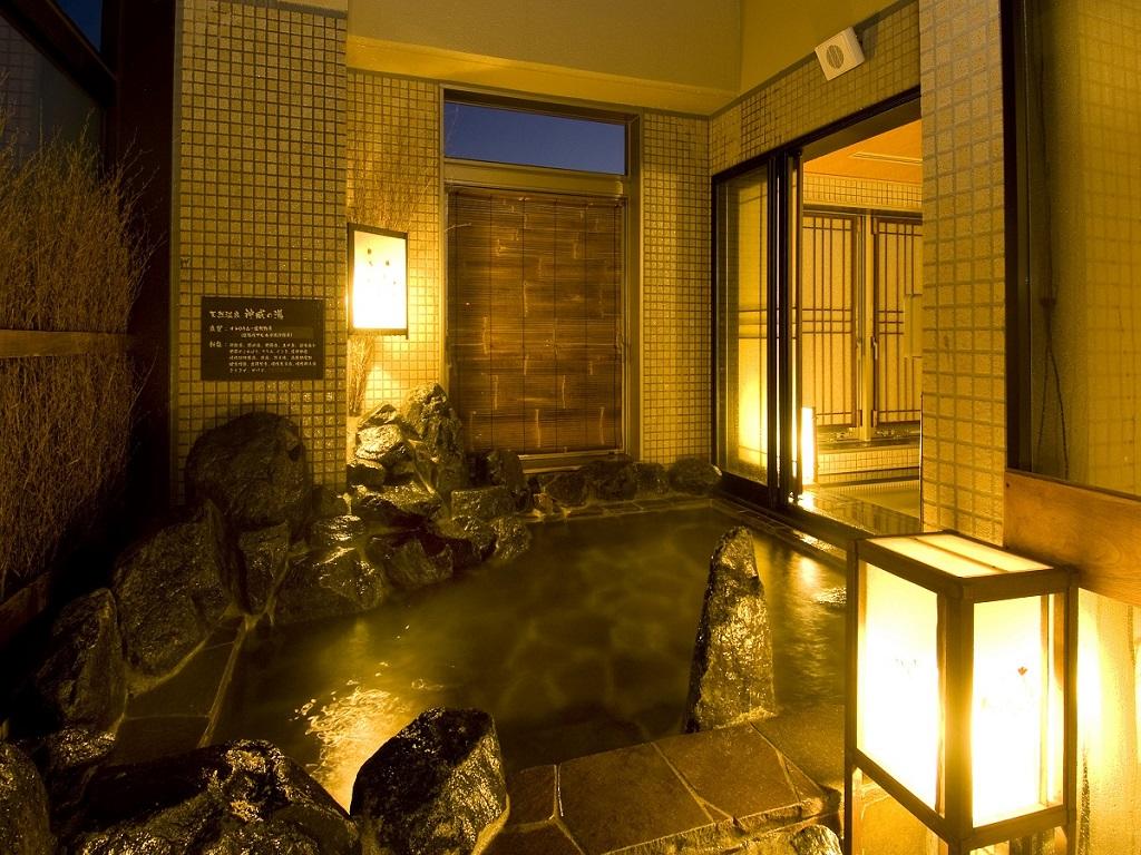 ◆女性大浴場「天然温泉露天風呂」