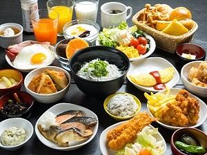 ■和洋バイキング 6:15〜10:00(最終入店時間9:30)