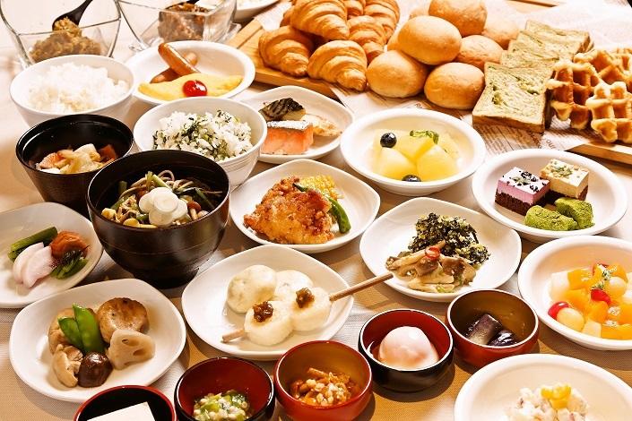 【朝食付】メニュー豊富な和洋食バイキング付プラン♪
