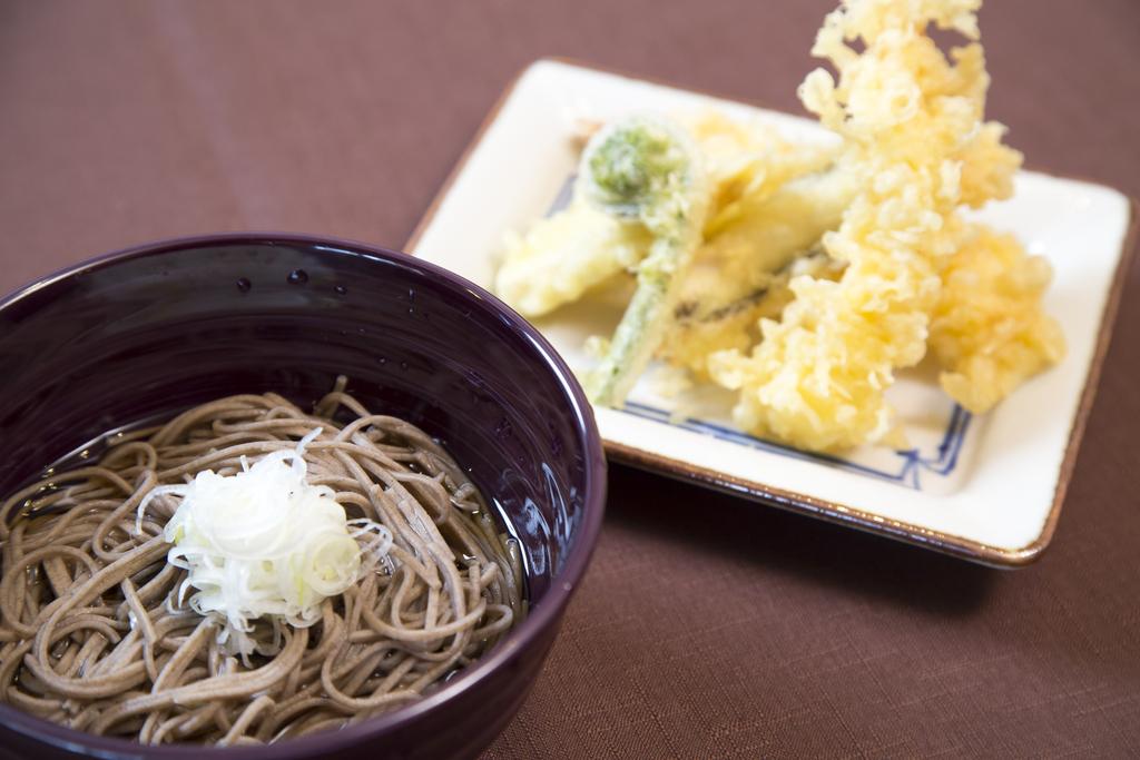 朝食バイキング-蕎麦&天ぷら-
