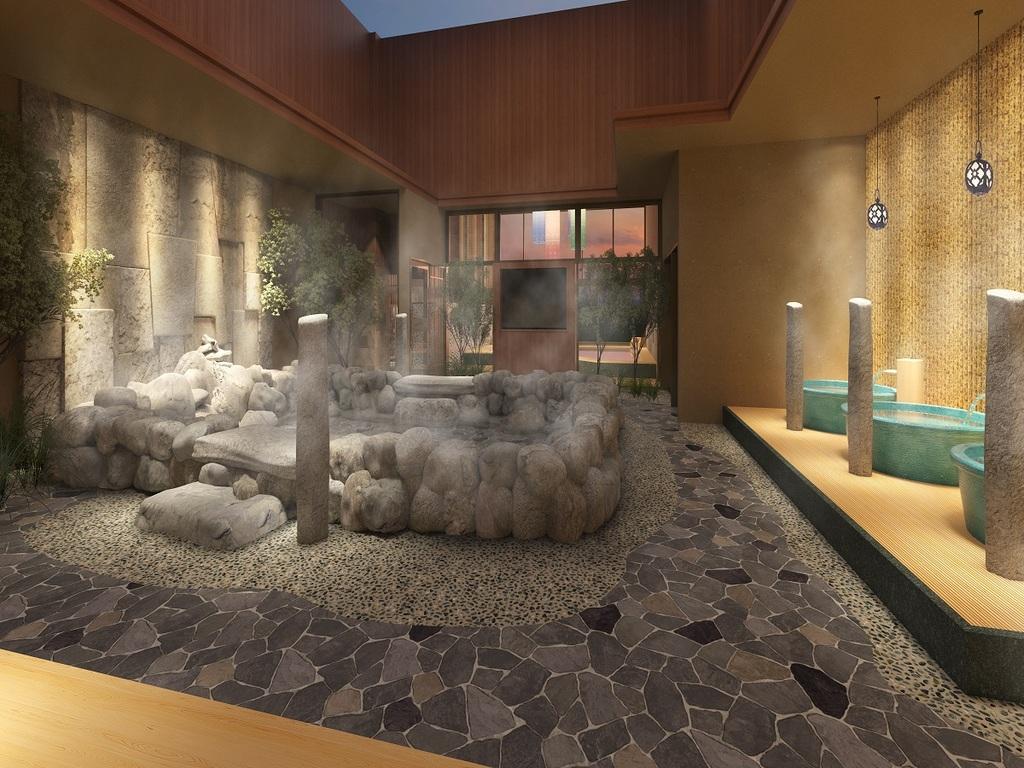 露天大浴場
