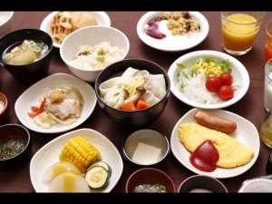 """ご当地★""""ほうとう""""食べ放題♪★50種類以上和洋食バイキング朝食付プラン!"""