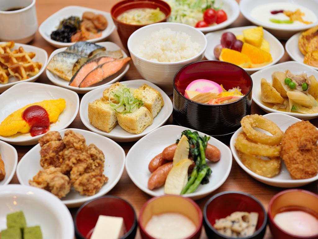 【朝食付】50種類から選べる和洋バイキング付プラン★