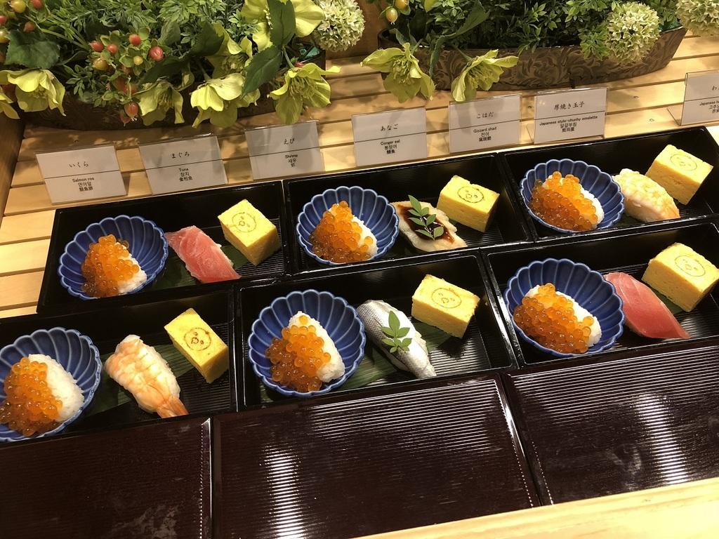 ご当地メニュー 江戸前寿司