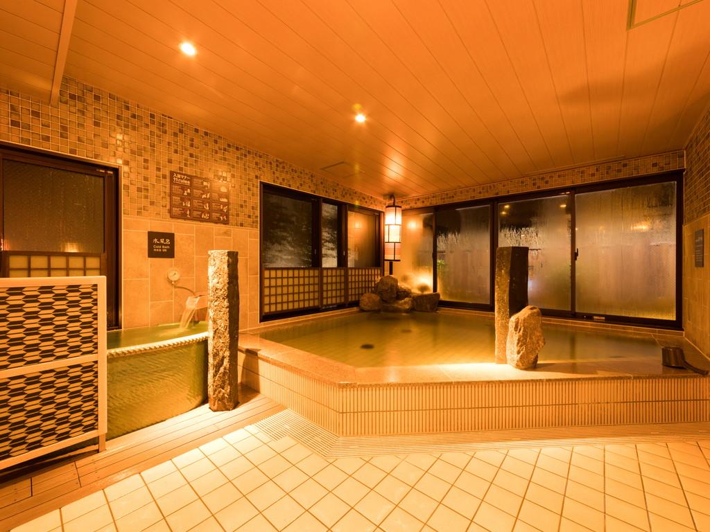 ◆男性大浴場内湯 夜