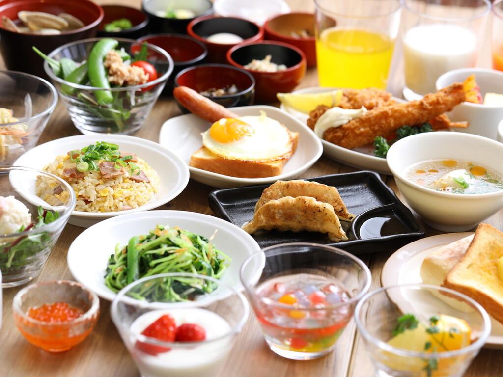 【朝食】ブッフェ一例