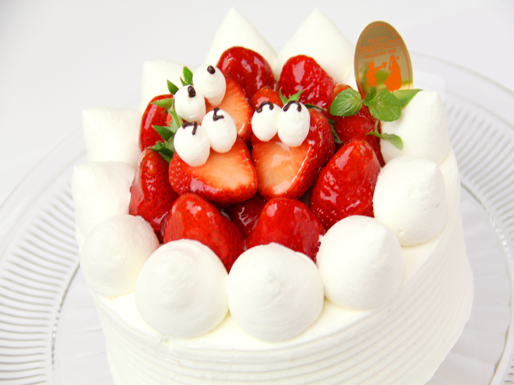 スナッフルスのケーキ例