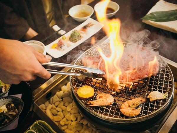 【夕食】炙り焼き ※イメージ