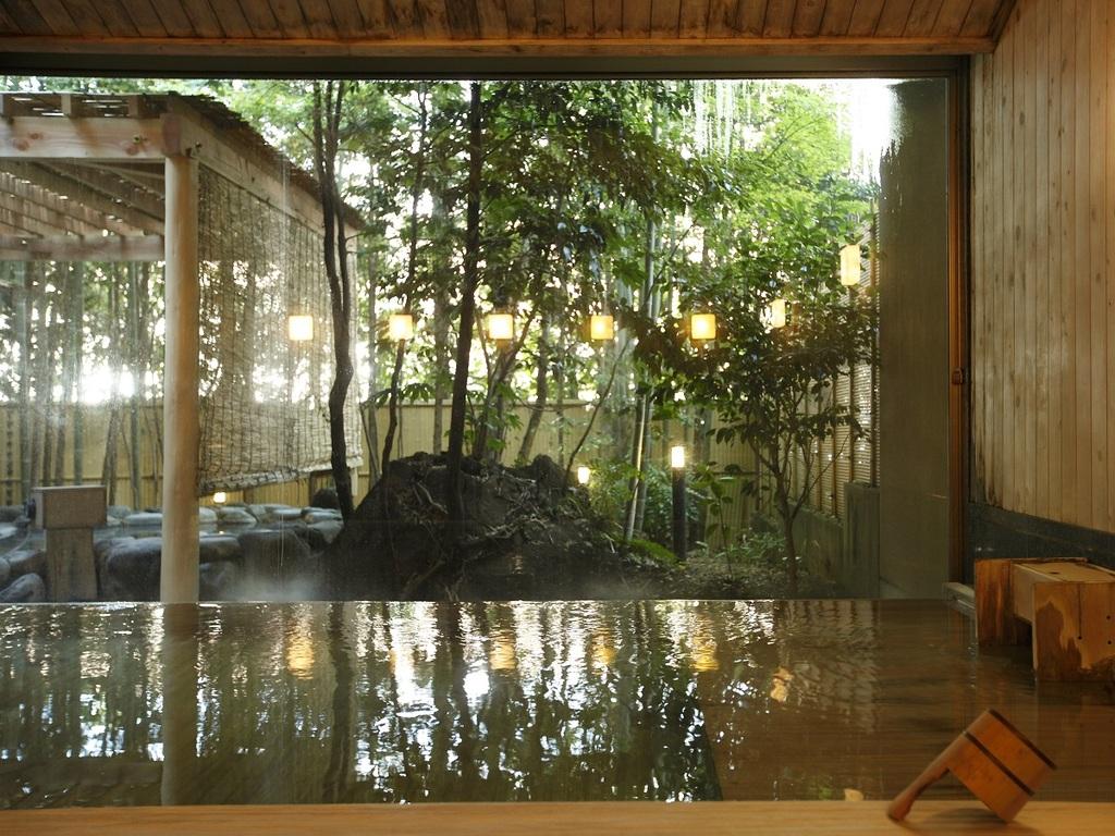 星の湯【内湯】檜風呂