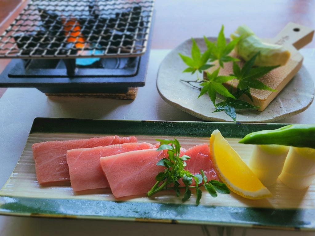 7月・8月 一品料理 本鮪の焙り焼き