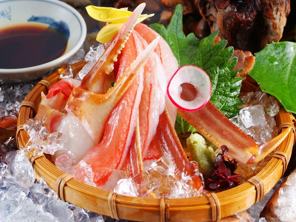 蟹刺し(冷凍)