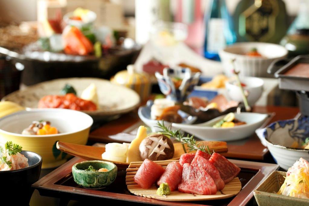 【夕食】全体イメージ 。Banquet meal ( image )