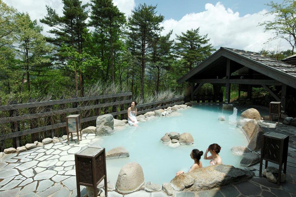 【大浴場】季の湯-露天風呂。Open air-bath