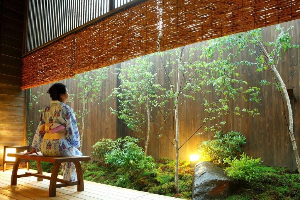 【大浴場】季の湯-湯上りイメージ。Relax after you bath
