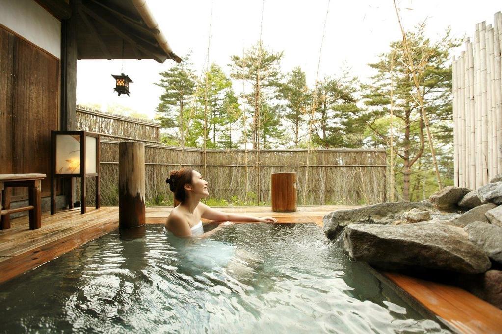 【貸切】竹座( Private open air-bath )