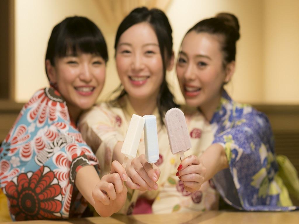 【サービス】湯上りアイスキャンディー