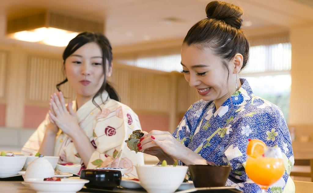 【食事処】美味しい食事は会話が弾みます!