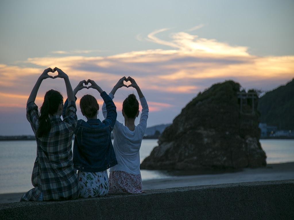 【観光】稲佐の浜 (イメージ)