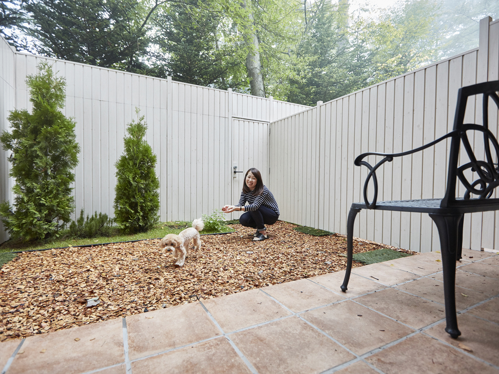 【ペット客室】ガーデンツイン