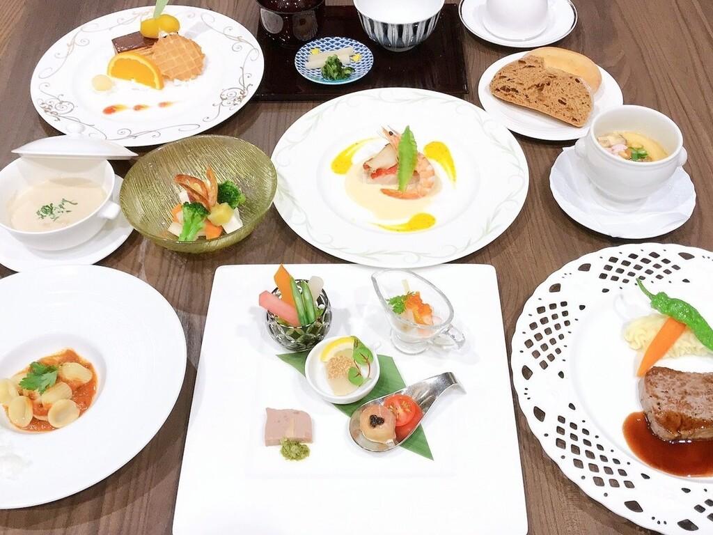 【秋期限定】西洋茶碗蒸し付洋食コース料理