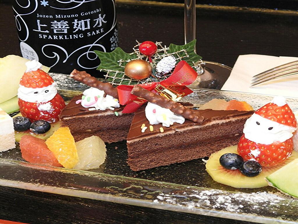 【ご夕食】クリスマスプランオリジナルデザート(イメージ)