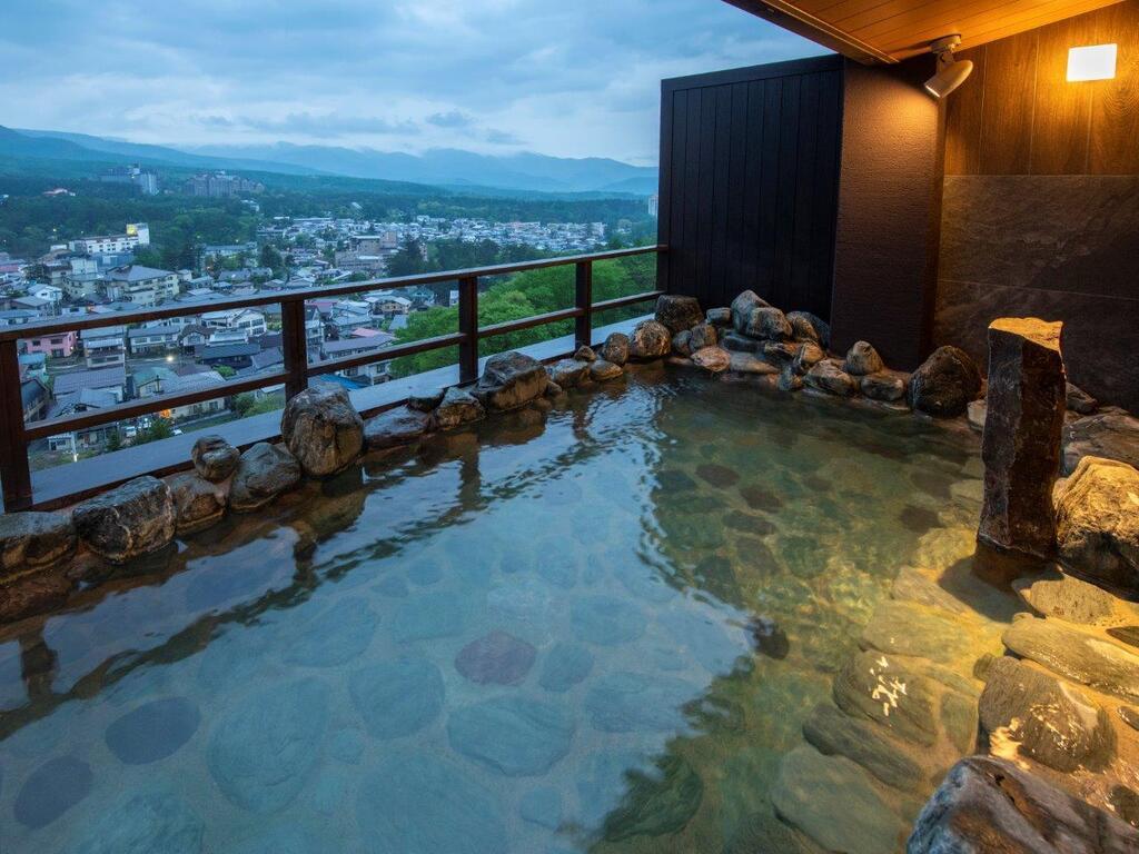 【眺望浴場】露天風呂