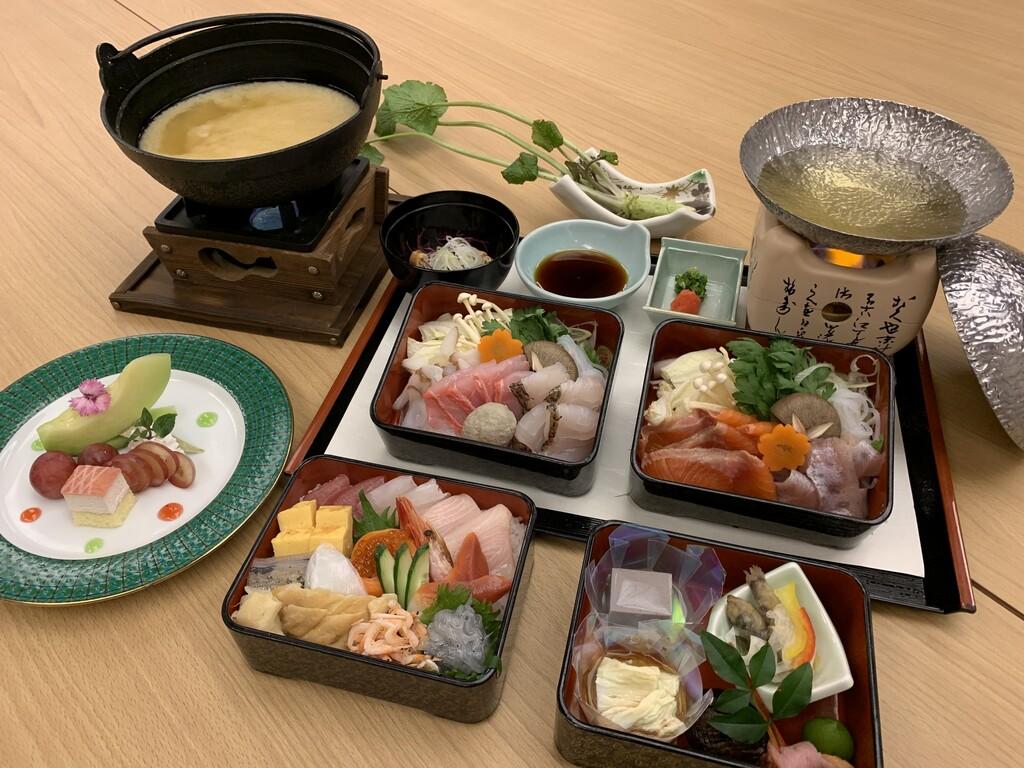 部屋食プラン限定料理駿河コースイメージ